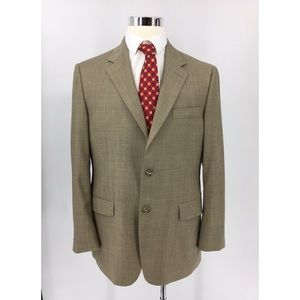 Hickey Freeman Men's Two Button Wool Sport Coat